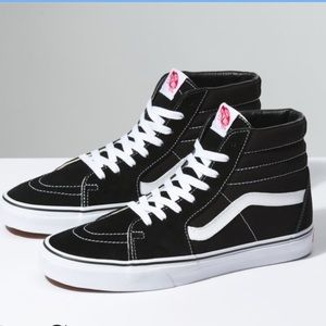 Vans classic SK8 high top skate shoes size 4